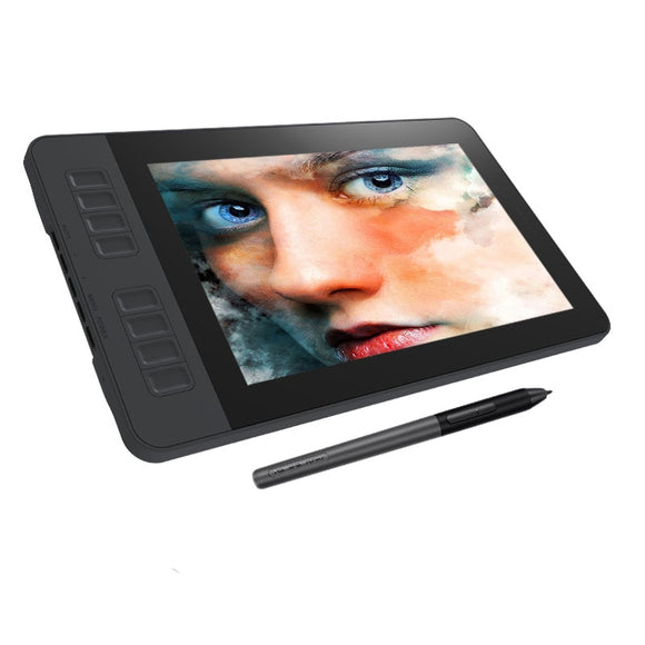 GAOMON PD1161 IPS HD Graphics Drawing Digital Tablet Monitor 8 Shortcut Keys levels Battery-Free Pen