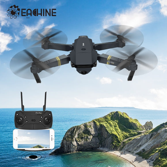 Eachine E58 WIFI FPV  720P/1080P Camera High Hold Mode Foldable Arm RC Quadcopter