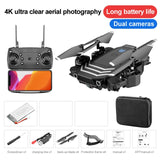 RC Drone 4K With camera HD Wifi fpv LS11 Fixed height Professional Quadcopter 1800mah Long time Foldable Selfie Gift Toys