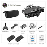 S66 FPV Mini Drone With Camera HD RC Foldable 4K Professional Selfie Wifi Double Camera Quadcopter RCToy