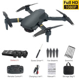 Drone 4K with WIFI FPV HD Wide Angle Camera Quadcopter Optical Flow RC Gesture Control Foldable Altitude Hold