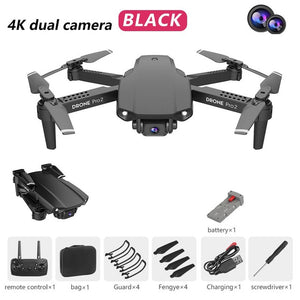 E99 RC Drone  Precision Fixed Point 4K HD Camera Professional Aerial Photography Helicopter Foldable Quadcopter