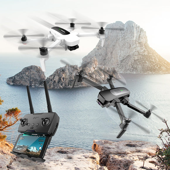 Hubsan RC Drone Quadcopter - H117S Zino Drones 1KM 5.8G with UHD 4K Camera- 700g 3-Axis Gimbal Foldable Arm - RTF High Speed GPS