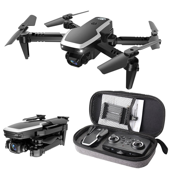 S171 Pro Fpv Mini Drone 4k HD Dual Camera Altitude Hold Coreless Motor Wifi 2.4G RC Quadcopter Foldable Drones With Cameras Dron