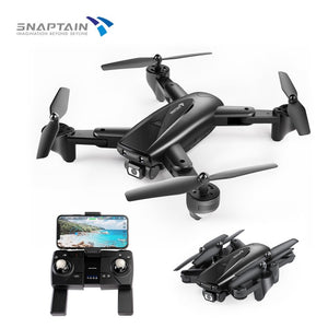 SNAPTAIN SP500 Camera Drone Foldable FPV RC Quadcopter with 1080P HD 5G WiFi Hight Hold Christmas gift kids