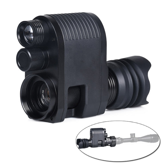 Digital Night Vision Scope Camera Photo Video Riflescope Optical Sight Infrared Camera for Complete Darkness Hunting Megaorei 3