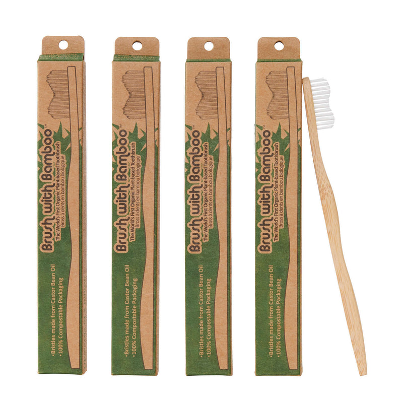 Brush With Bamboo - Bamboo Toothbrush - Adult
