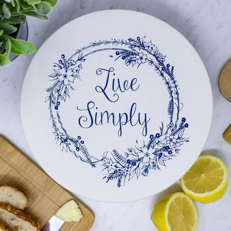 Live Simply Bowl Cover - Medium