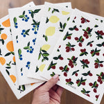 Ten & Co Sponge Cloths - Vintage Fruits