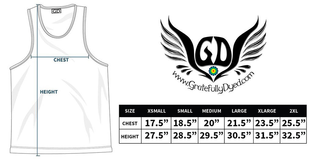 tank top sizing chart gratefullydyed