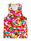 Candy Sprinkles Birthday Foodie Premium Tank Top