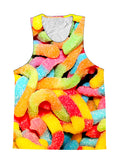 Gummy Worms Candy Foodie Premium Tank Top