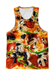 Pizza Supreme Foodie Premium Tank Top