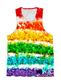 Rainbow Cake Birthday Foodie Premium Tank Top