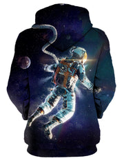 outer space astronaut sublimation hoodie