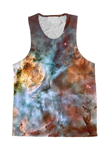 Abstracted Nebula Premium Tank Top