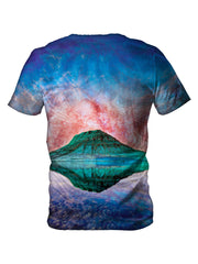 psychedelic alien space print - festival t shirts