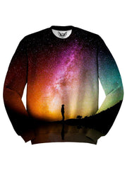 Colorful Galaxy Sweater Front View