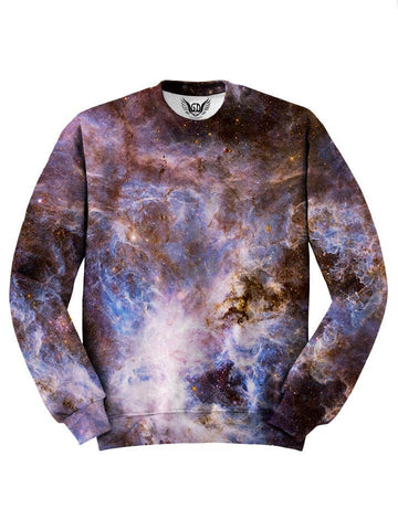 Brown Marble Galaxy Sweater Front View