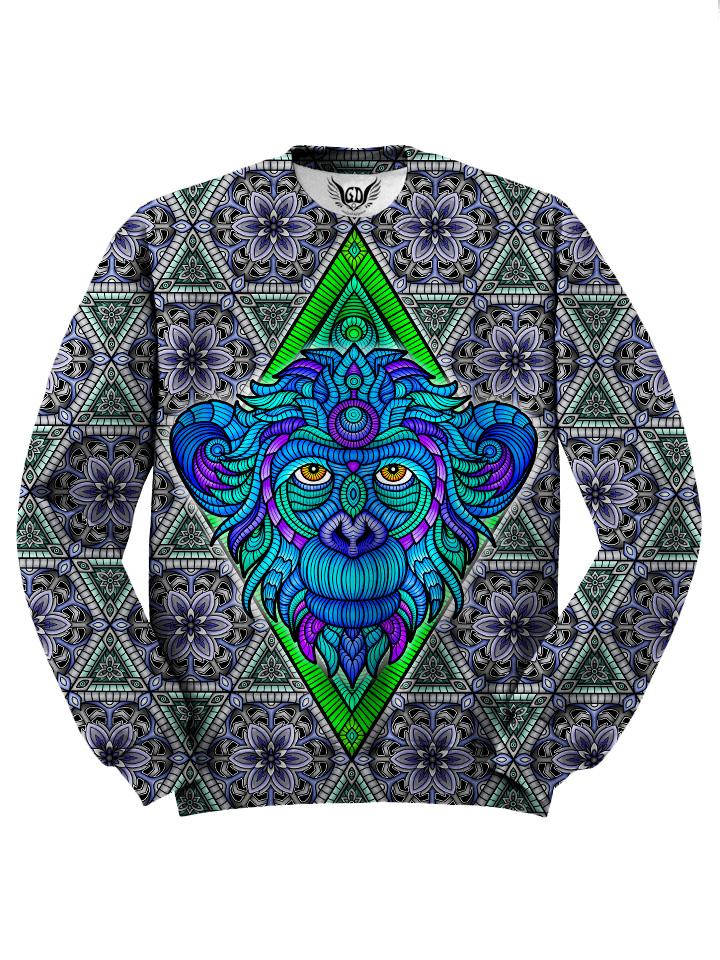 Arctic Monkey Sacred Geometry Animal Sweater
