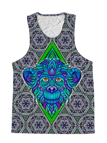 Arctic Monkey Sacred Geometry Premium Tank Top