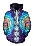 Attuned Pullover Art Hoodie - GratefullyDyed - 1