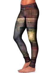 Colorful Impressions Leggings - GratefullyDyed 2