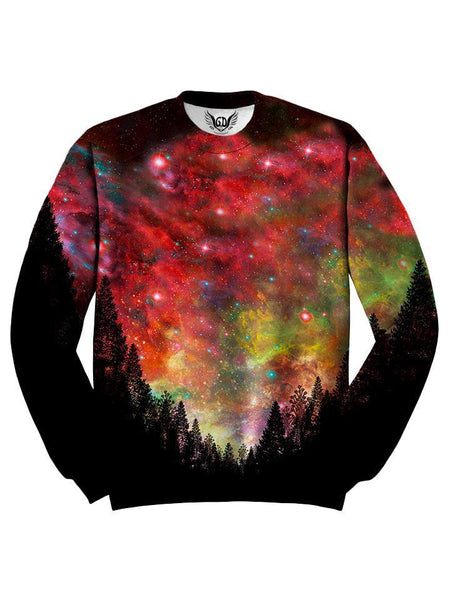 Red And Pink Space Sweater