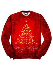 Red Christmas Sweater Front View