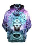 Chieftain Pullover Art Hoodie - GratefullyDyed - 2