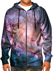 Trippy Space Print Hoodie - Festival Clothing