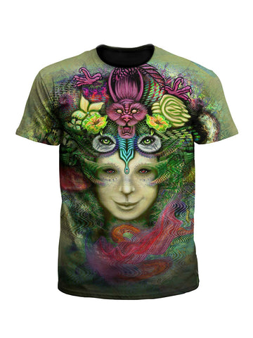 Blossoming Mind Art Tee