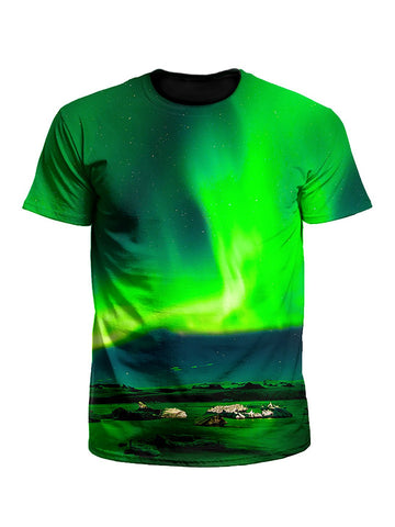 Borealis Northern Lights Galaxy Unisex T-Shirt