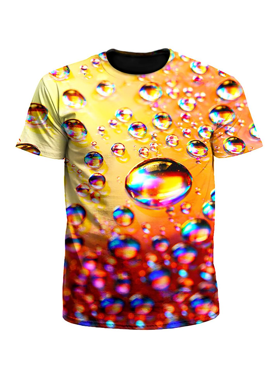 Bubbles Rainbow Unisex T-Shirt