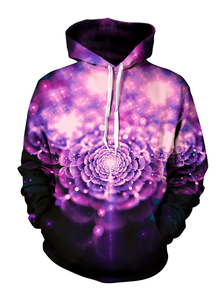 beautiful flower artwork hoodie sublimation print