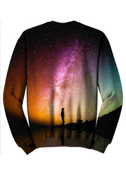 Beautiful Multi Colored Galaxy Sweater Back View