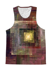 Colorful Impression Abstract Geometric Premium Tank Top
