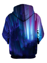 Multi Colored Psychedelic Pullover Hoodie Back View