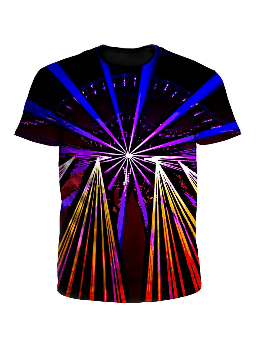 Comic Show Geometric Lights Unisex T-Shirt