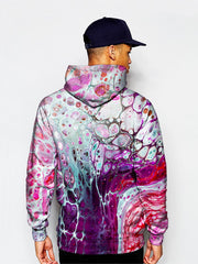 man in a gratefullydyed psychedelic sublimation hoodie
