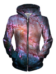 EDM Style Zip Up Hoodie Print | Festival Clothing