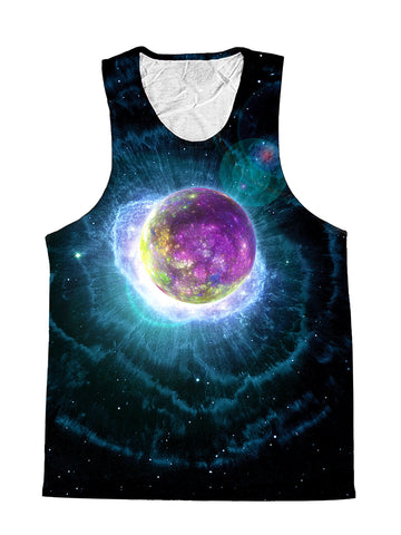 Emerge Nebula Planet Galaxy Premium Tank Top
