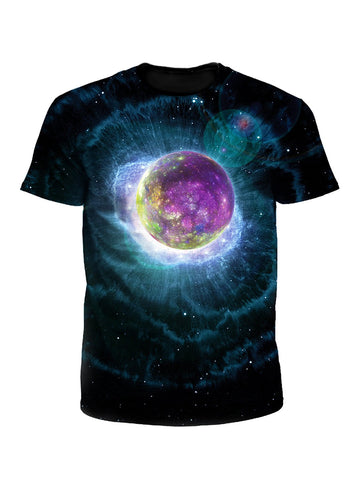 Emerge Nuclear Planet Galaxy Unisex T-Shirt