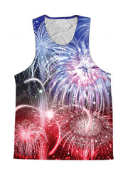 Fireworks 4th Of July Premium Tank Top