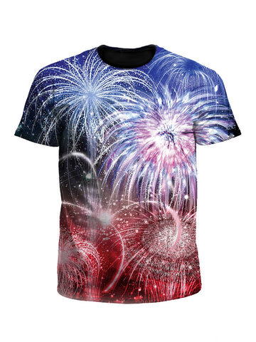 Fireworks 4th Of July Unisex T-Shirt