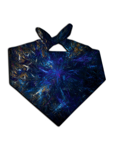 Blue Galaxy Headband | Raver Bandanna