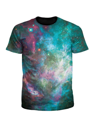 Galactic Transmission Unisex Space Tee