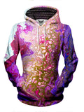 Womens Festival Clothing - Marble Paint Hoodie
