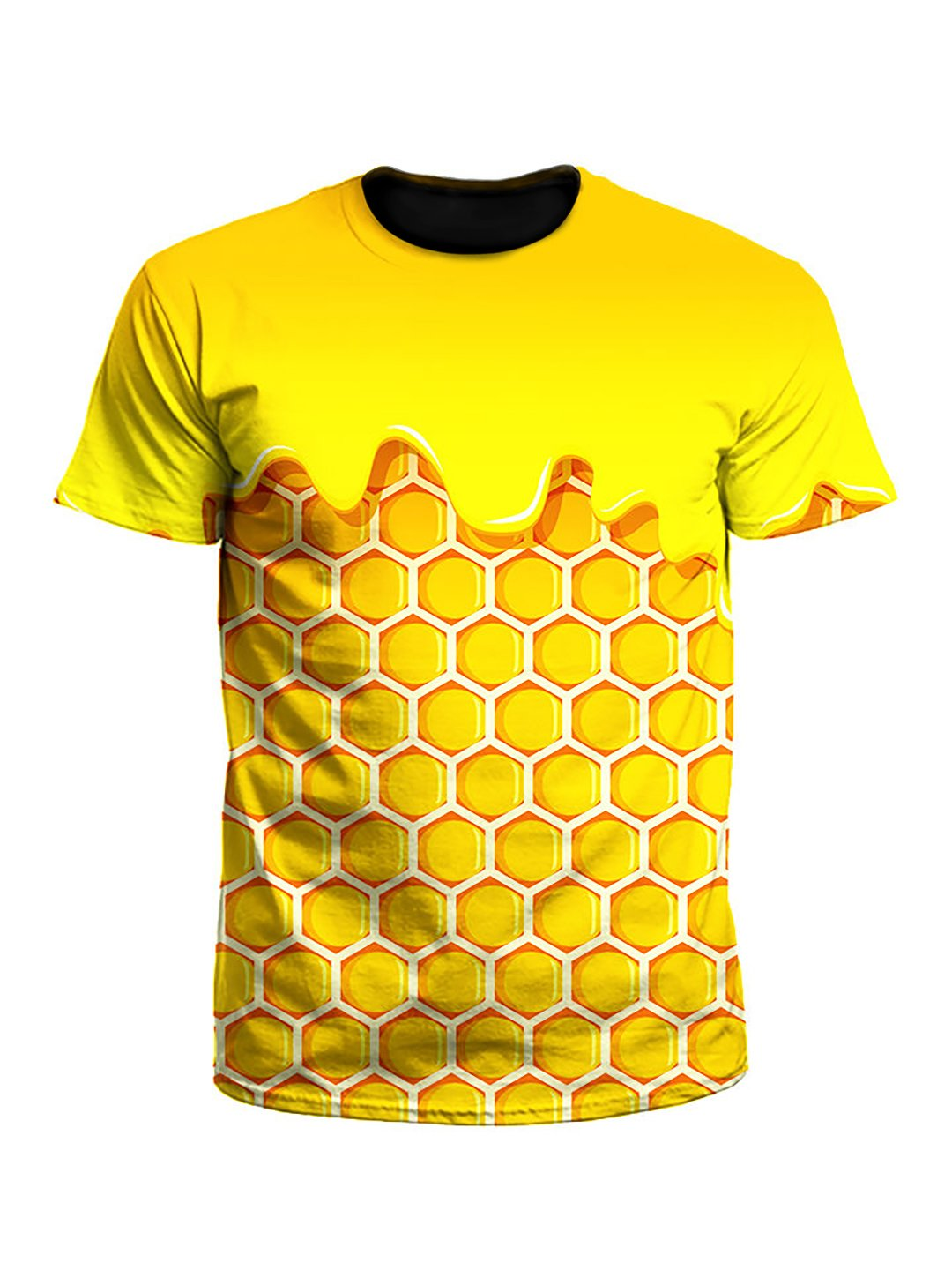 Honey Dripping Honeycomb Unisex T-Shirt
