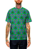 Visionary Artwork Mandala All Over T Shirt Print